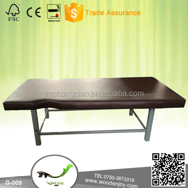 G-009 new style simple Iron Stationary Massage Bed for Spa Commercial Use