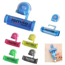 Hadiah Kreatif Bermerek Logo SMART Kembali Lucu Mengisap Disc Dinding Rolling Meremas Tabung Plastik Dispenser Pasta Gigi Pemegang