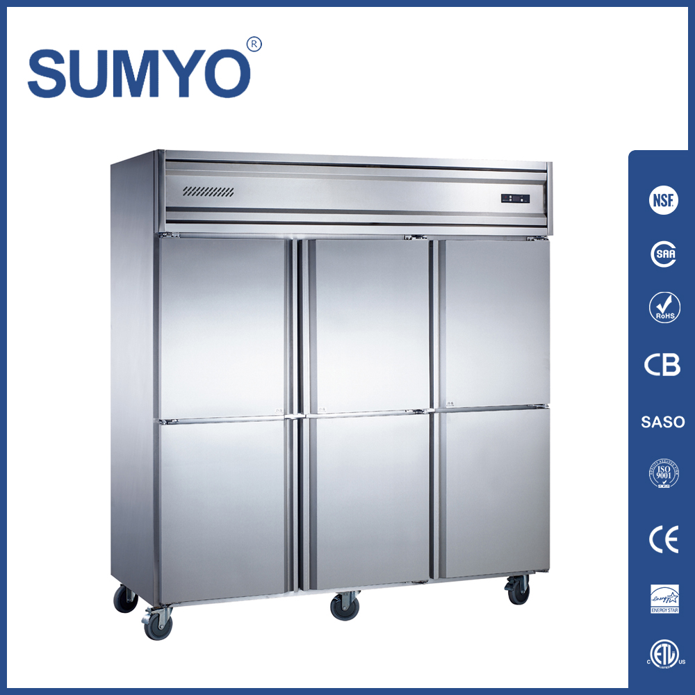 resto equip a good restaurant kitchen. commercial refrigerators. 4 ...