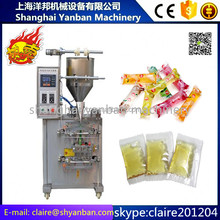 shanghai manufacture YB-150J Automatic vertical shampoo sauce sachet packing machine