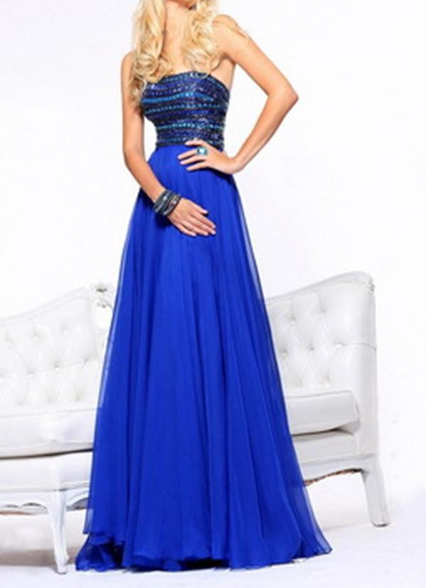 fcc909a12f Elegant Long Prom Dresses 2015 Crystal Rhinestone Prom Dresses Custom Made  Long Evening Dress Formal Gown Vestido De Festa T019