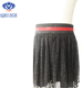 A gauze dress with sequins Wholesale Cheap girls tutu skirts kilt Mini Half Shaping Slip with Lace trim hem