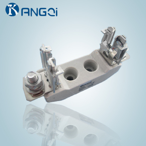 HRC NT00/NH00 high quality low voltage fuse link/holder and knife blade ceramic porcelain fuse base