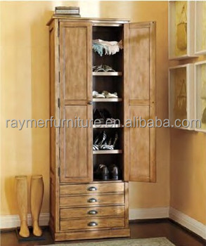 Antique French Style Solid Wood Vintage 2 Door Wardrobe Armoire View Raymer Furniture Product Details From Hangzhou
