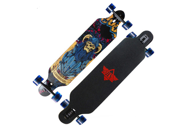 Complete Longboard good quality chinese maple long board
