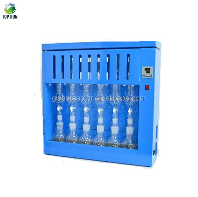Soxhlet Extraction Apparatus Fat Analyzer Machine For Food Feed Oil Plants And Soil Samples Buy Soxhlet Extractor Unit Laboratory Soxhlet Extractors Soxhlet Extraction Apparatus Fat Analyzer Machine Laboratory Soxhlet Extraction Apparatus 2