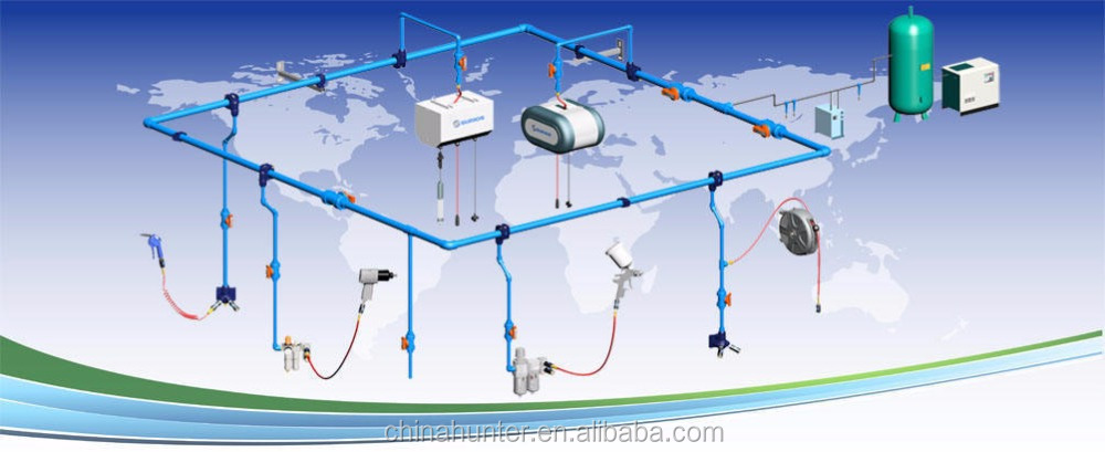 Project & Solutions: Pvr Compressed Air Piping System For Auto Repair Shop  - Buy Pvr Compressed Air Piping System Product on Alibaba com