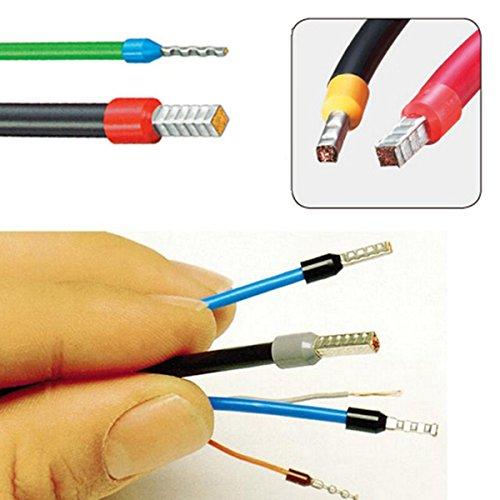 Electric Semi Automatic cable terminals crimp machineinsulated ferrule wire terminal strip crimping machine