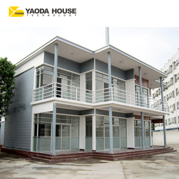 Lowest Price Prefabricated Steel Building Duplex Modern Villa House Plans