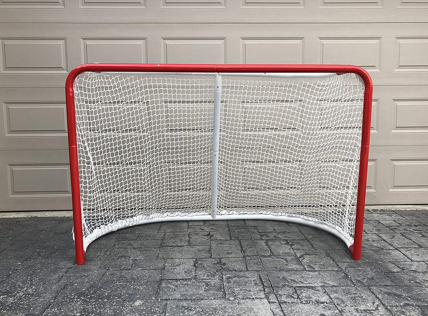 d3cb66b8494 Get Quotations · Ascent Sports Hockey Goal - Pro Style Hockey Goal -  Practice Goal - Hockey Net -