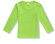 custom wholesale design your logo kids long sleeve t shirt 100% polyester