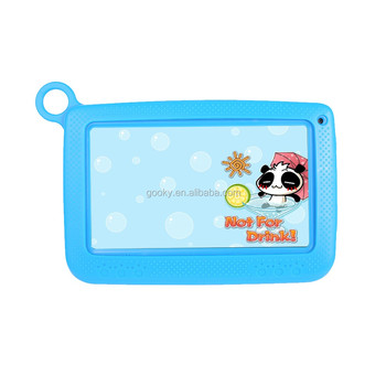 "Kids 7"" Inch Quad Core Android Tablet PC free send Kids Silicon Standing Case"