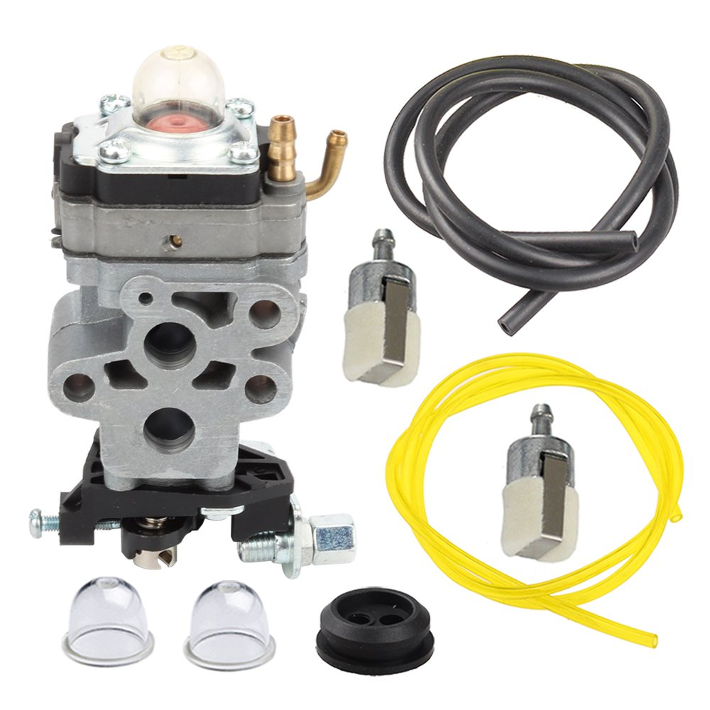 Get Quotations · Panari 504116101 Carburetor Carb + Fuel Line Filter for  Husqvarna 530BT 130BT RedMax EBZ3050RH EBZ3000RHCA Backpack