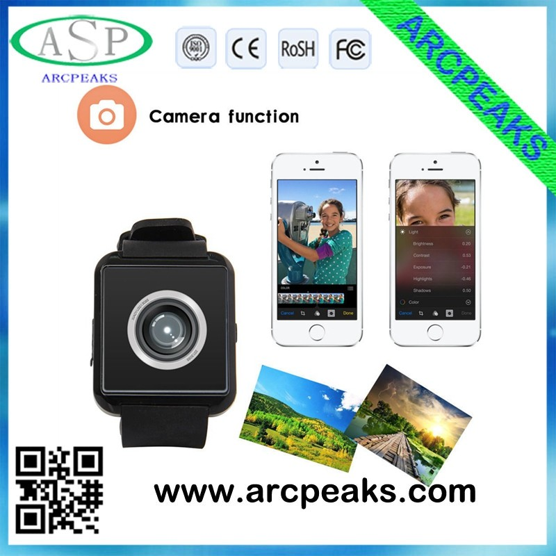 In stock! 2016 New bluetooth smart watch dz09 With Camera