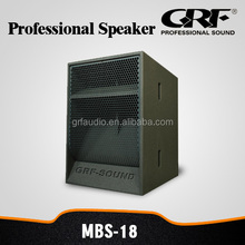 "GRF 18"" High Quality Powerful Audio Speaker"