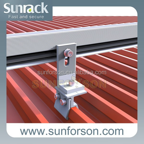 Sunrack Solar Module Mounting Components Parts Hardwares