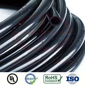black insulation pvc tubing for automotive wiring harness