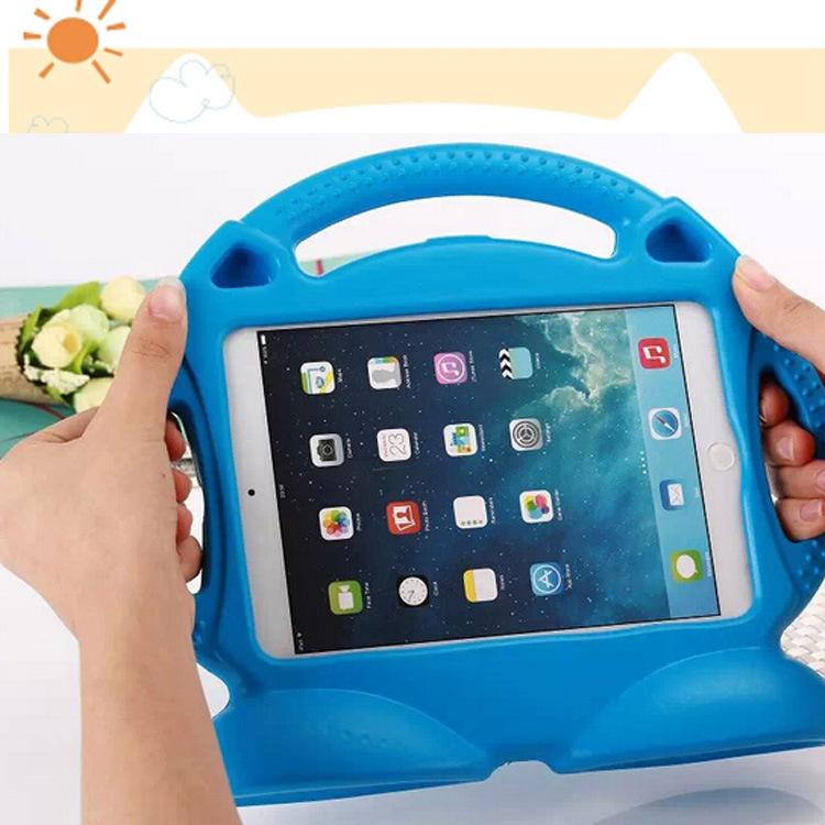 Hot Kids lovely Thoms shockproof drop resistance tablet PC EVA foam desk stand back case cover