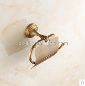 Toilet Brass Paper Holder tissue box roll paper dispenser 4015