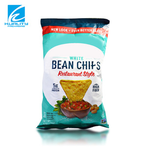 Custom printing heat seal foil plantain chips packaging bags