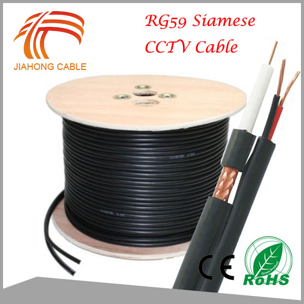 305M HD CCTV Camera Cable, 75ohm Coaxial Cable RG59 Power With 2C