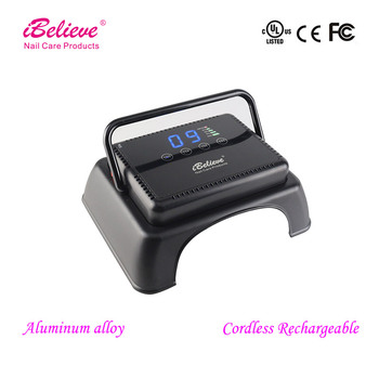 64W Cordless LED Ibelieve Nail Lamp Tp83 Pro Cure Nail Lamp