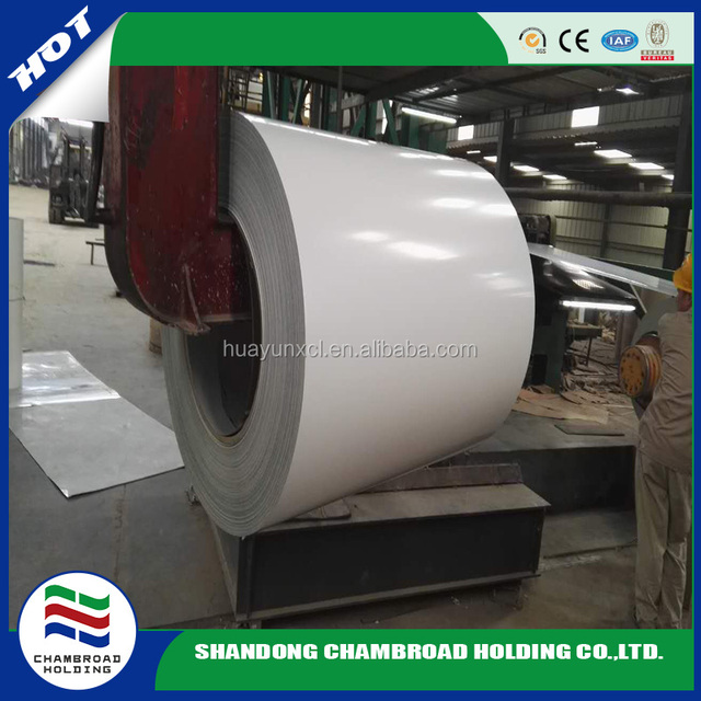 color coated steel coil PPGI prepainted galvanized steel coil producced bu mill /gutter price