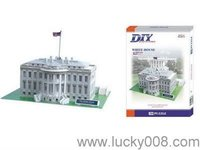 3D FOAM PUZZLE WHITE HOUSE(USA)