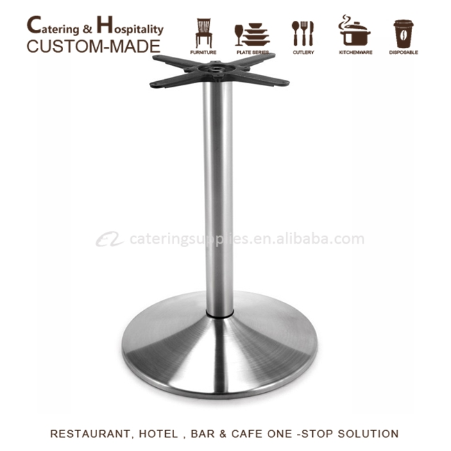 Stainless Table Base, Stainless Steel Table Leg
