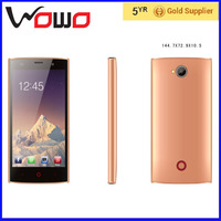 2016 2g samrt mobile phone ADMET J7 oem mobile phone 5 inch android2.3.5 GREY PINK GOLD mobile phone