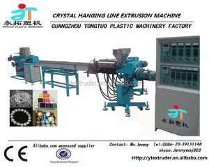 Factory supply high output crystal hanging wire extrusion line / production line