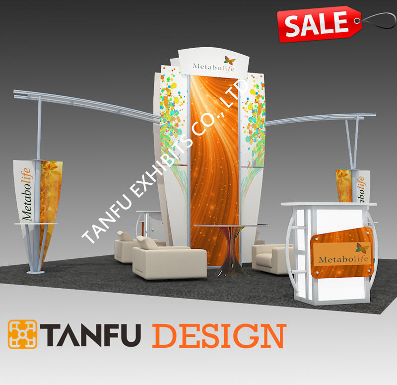 Trade Show Exhibition Exhibit Booth Design Ideas From TANFU