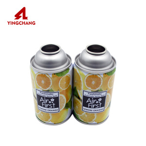 Factory Hot Sales air freshener automatic spray refill aerosol can/ tin can/metal can 250ml 300ml
