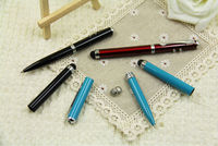 stylus ball pen with led light and red laser MFP001
