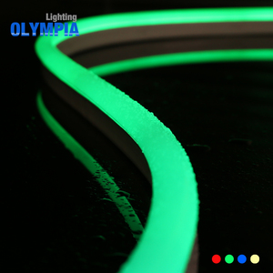 High stable RGB changeable color waterproof 60LEDs/m 24V LED neon flex rope light