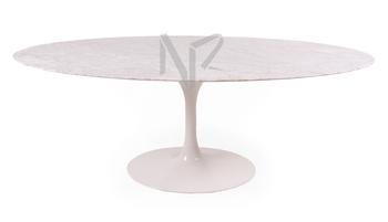 Replica Eero Saarinen Oval Tulip Table Marble Dining Product On Alibaba