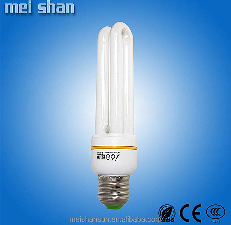 E14 E27 B22 lamp holder u shape 20wtt 220v energy saving bulb