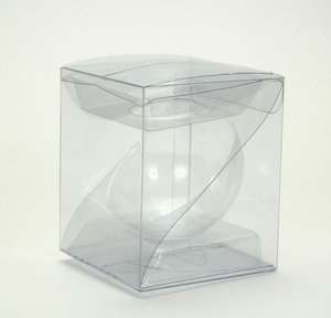 clear box packaging for mini soccer ball / China suppliers / PP PET PVC clear packaging box