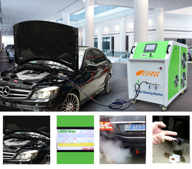 Mobile service distributor needed hydrogen cleaning machine car engine carbon cleaner