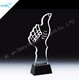 High quality beautiful color crystal for best friend award trophy