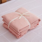 4 Pieces 100% Cotton Bed Sheet Bedding Set For Girls