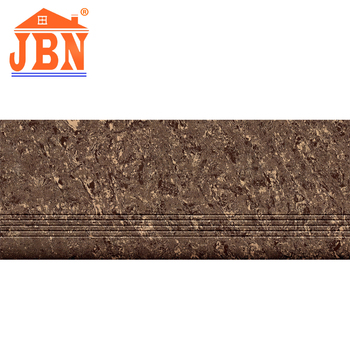 Dark Color Anti Slip Granite Polished Porcelain Cutting Floor Step