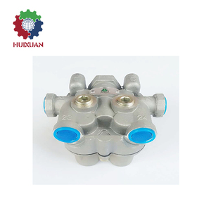 Sinotruk howo heavy truck parts multi circuit protection valve 4 way protection valve Four Circuit Protection Valve