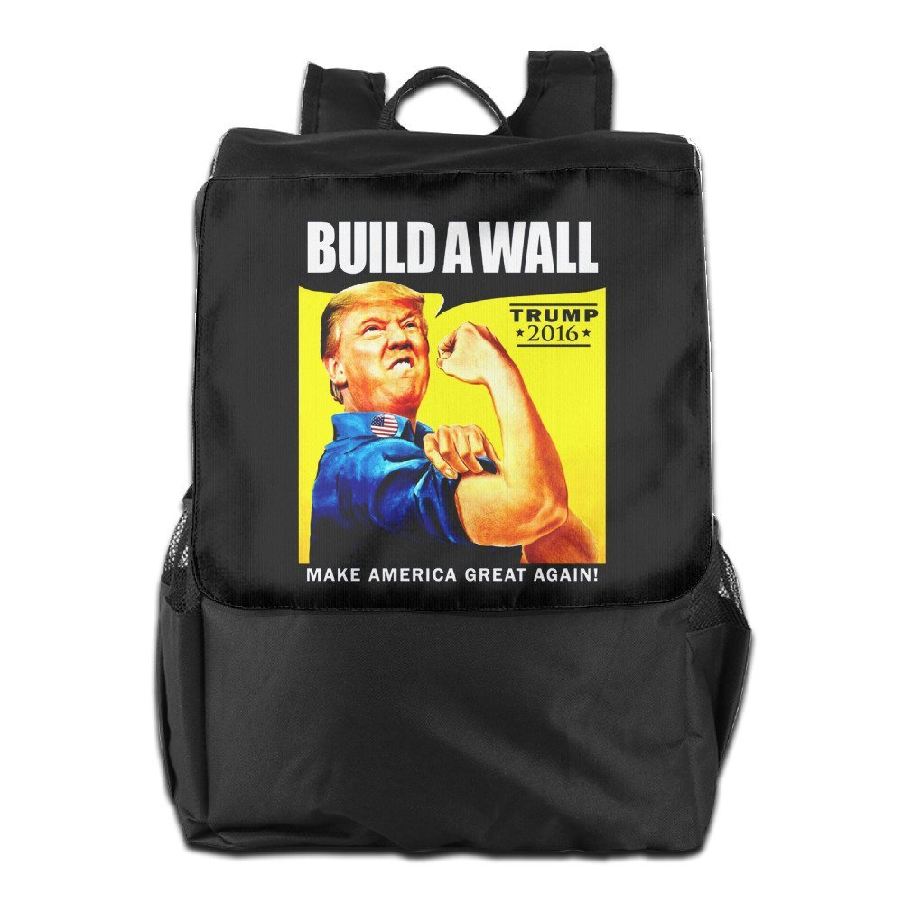 4bc4d9d73b77 Donald Trump Rosie The Riveter 2016 Build A Wall School Travel Backpack  Classic