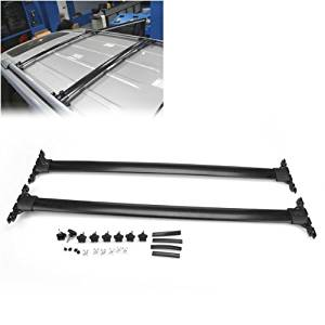Roof Racks & Boxes 100% Quality Silver Or Black For Jeep Compass 2011 2012 2013 2014 2015 2016 Baggage Luggage Rack Carrier Roof Rack Roo Rail Cross Bar Automobiles & Motorcycles