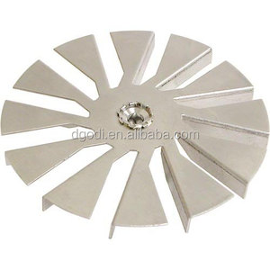 Custom make vacuum fan blades and types of fan blades