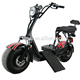 Europe electric scooter 2017 adult eec fat tire electric motorcycle 1000w city coco 2 seat mobility scooter