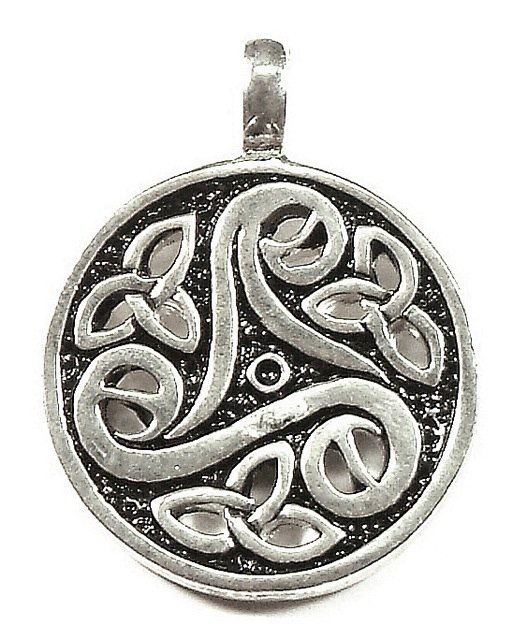 Spiral Triskele Trinity Jewelry Pewter pendant from Thailand one of Thousands of designs E mail us for full catalogue