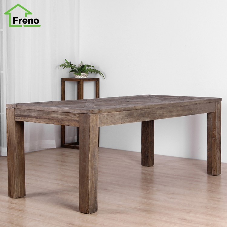 Solid Wood Antique French Style Dining Table Classic ...