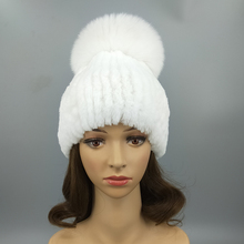 Wholesale fashion women winter seamless beanie knit hat